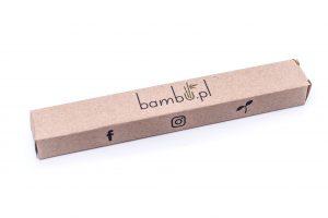 Pudełko bambusowej szczoteczki do zębów