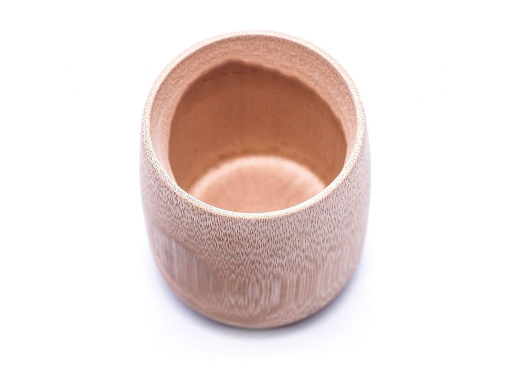 Naturalny kubek bambusowy
